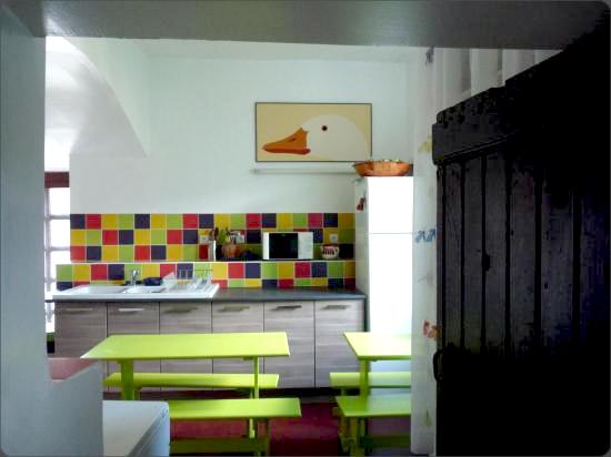 la cuisine du Cagnel