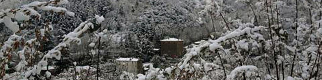 le Cagnel en Cévennes sous la neige