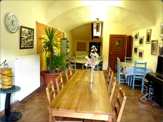 salle à manger du Cagnel