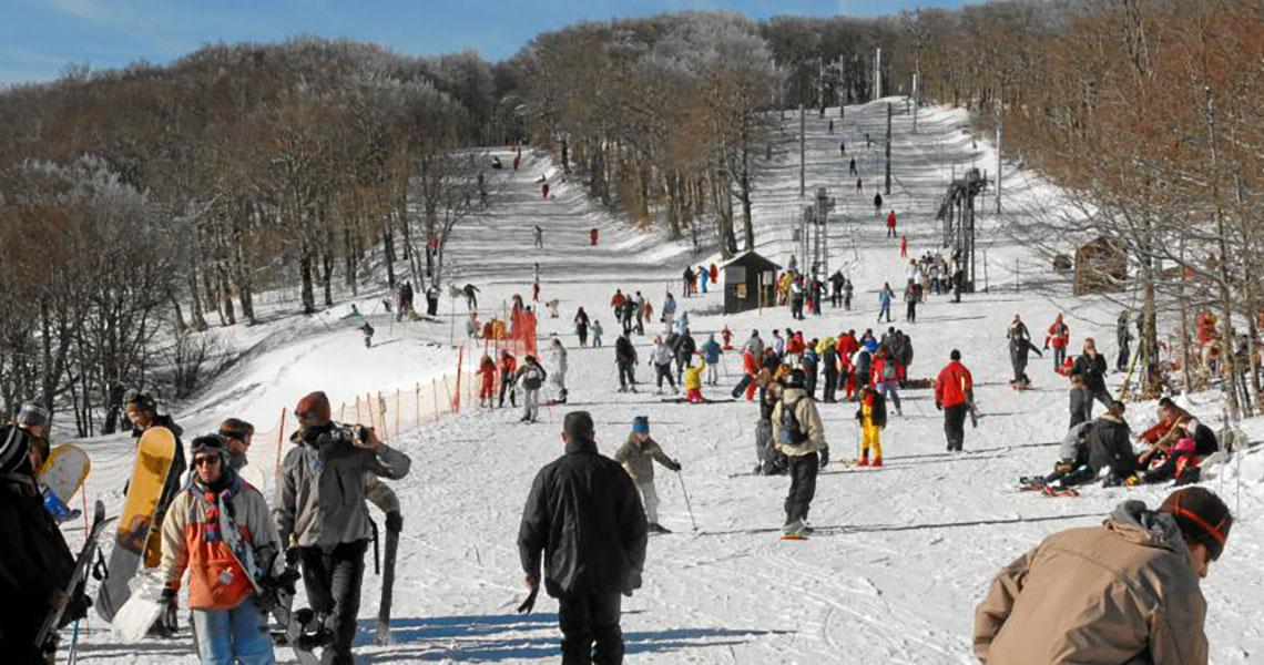station de ski de Prat Peyrot